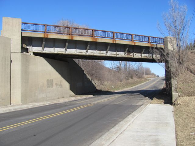 3 Mile Road Railroad Overpass