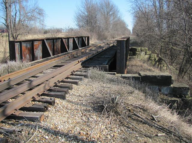 Coopersville and Marne Railroad Overpass