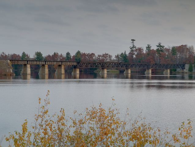 Escanaba River Railroad Bridge