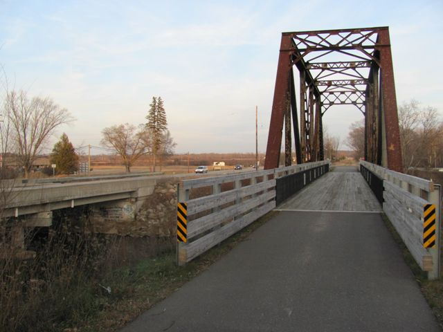 Evart Railroad Bridge