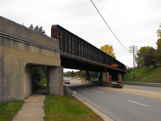 Grand blanc railroad bridge historicbridges