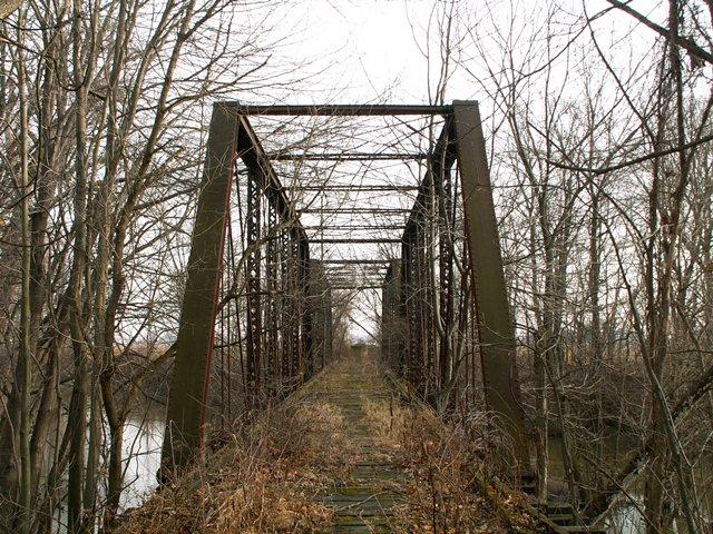 Grosvenor Railroad Bridge Fayette Branch Railroad Bridge