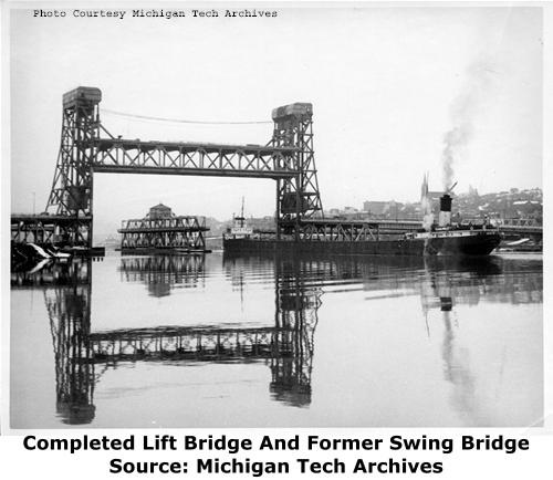 Houghton Hancock Bridge (Portage Lake Lift Bridge