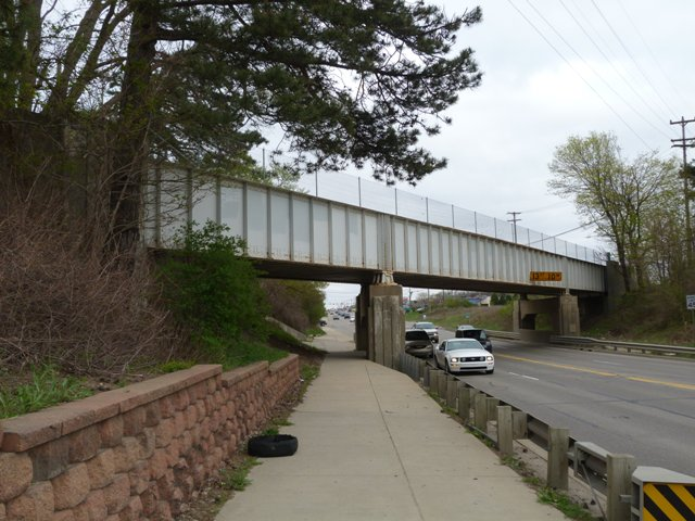 Grand River Avenue Railroad Overpass