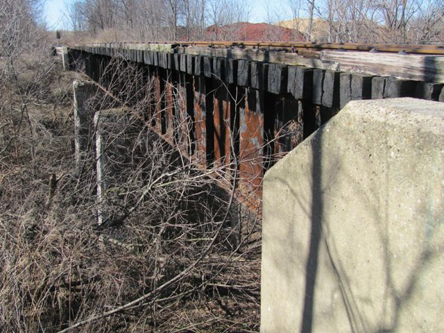 Indian Mill Creek Railroad Bridge