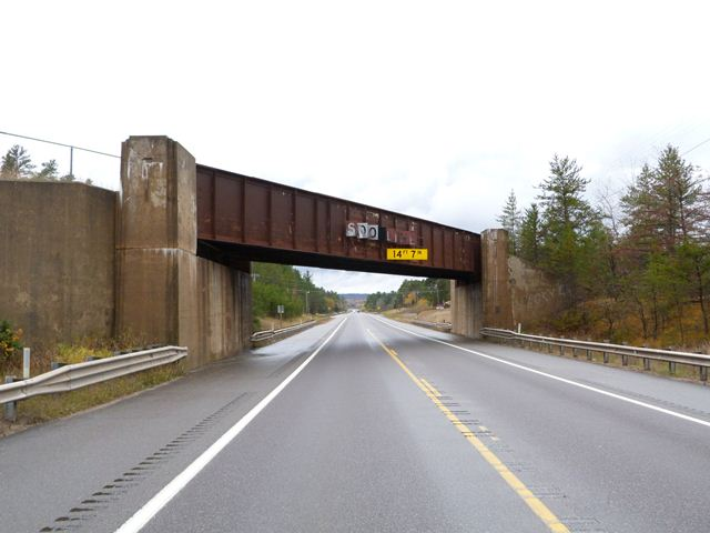 M-28 Soo Line Railroad Overpass