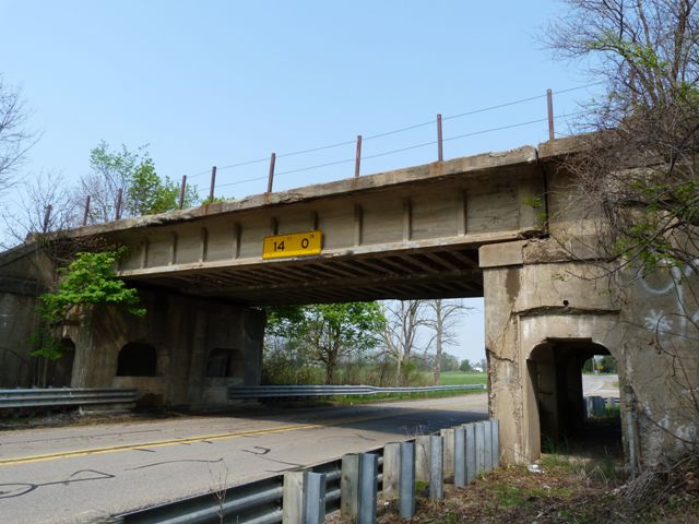 North Custer Road Railroad Overpass