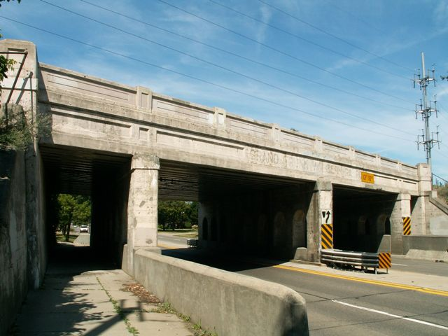 13 Mile Road Railroad Overpass