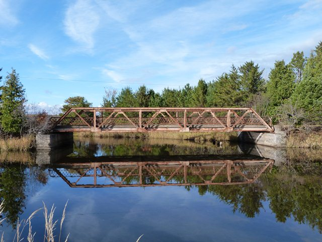 Old US-41 Backwater Creek Bridge