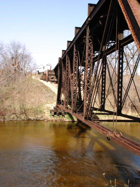 Stronach Railroad Bridge