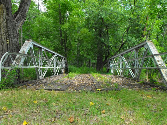 Thornapple River Private Bridge