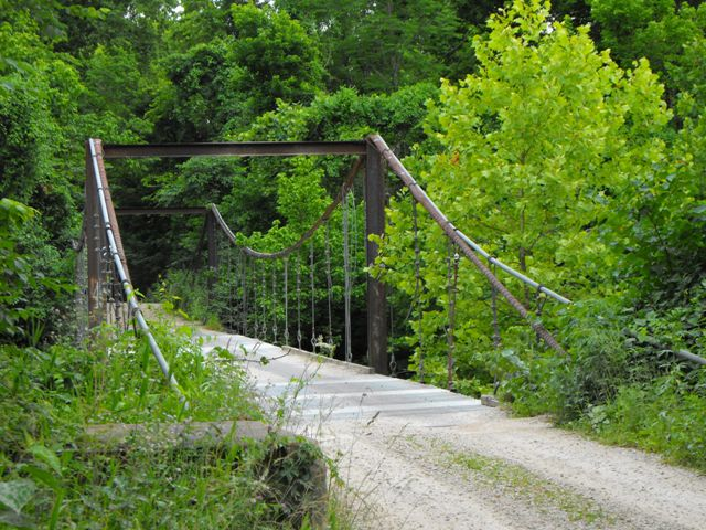 Mill Creek Swinging Bridge