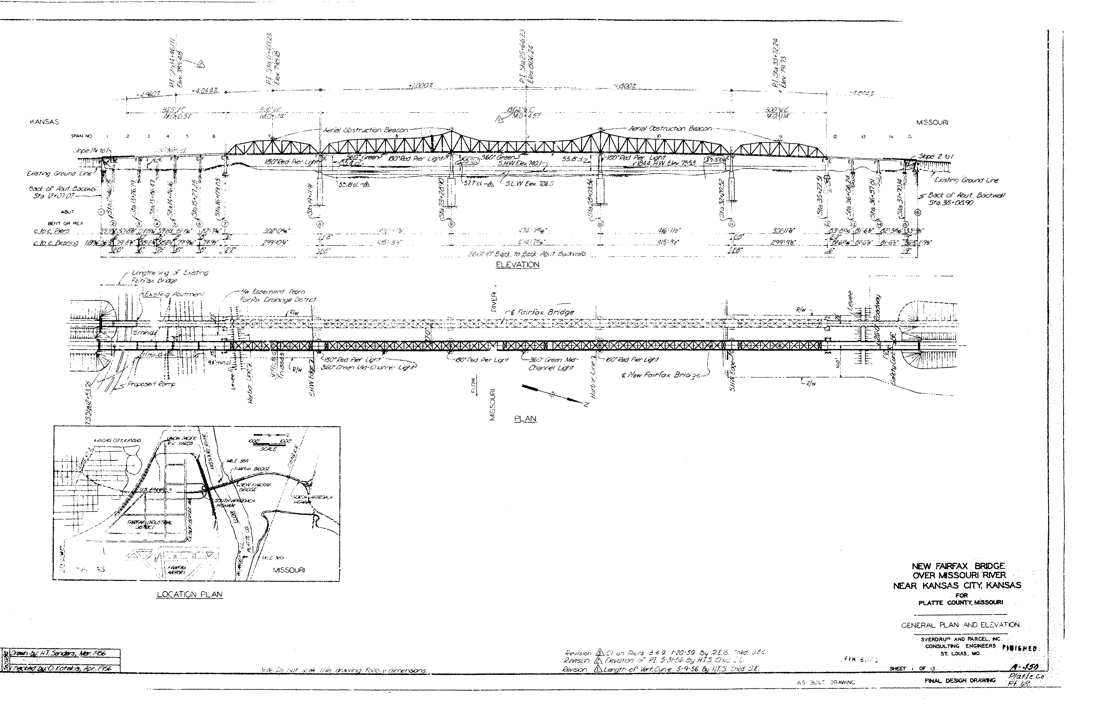 Platte Purchase Bridge (New Fairfax Bridge) - HistoricBridges.org