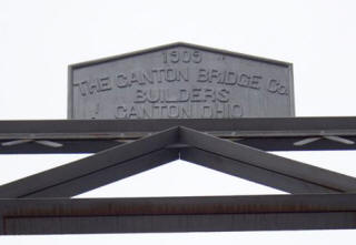 Builder plaque.