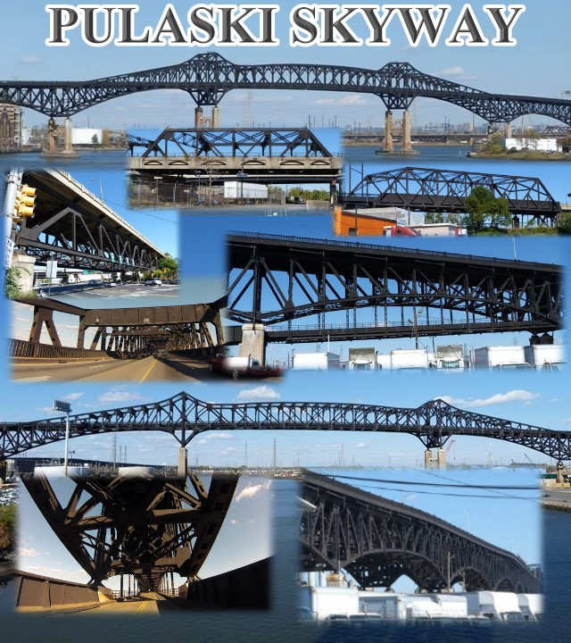 Main on Pulaski Skyway Map