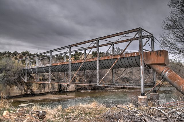Cedar Hill Flume Bridge