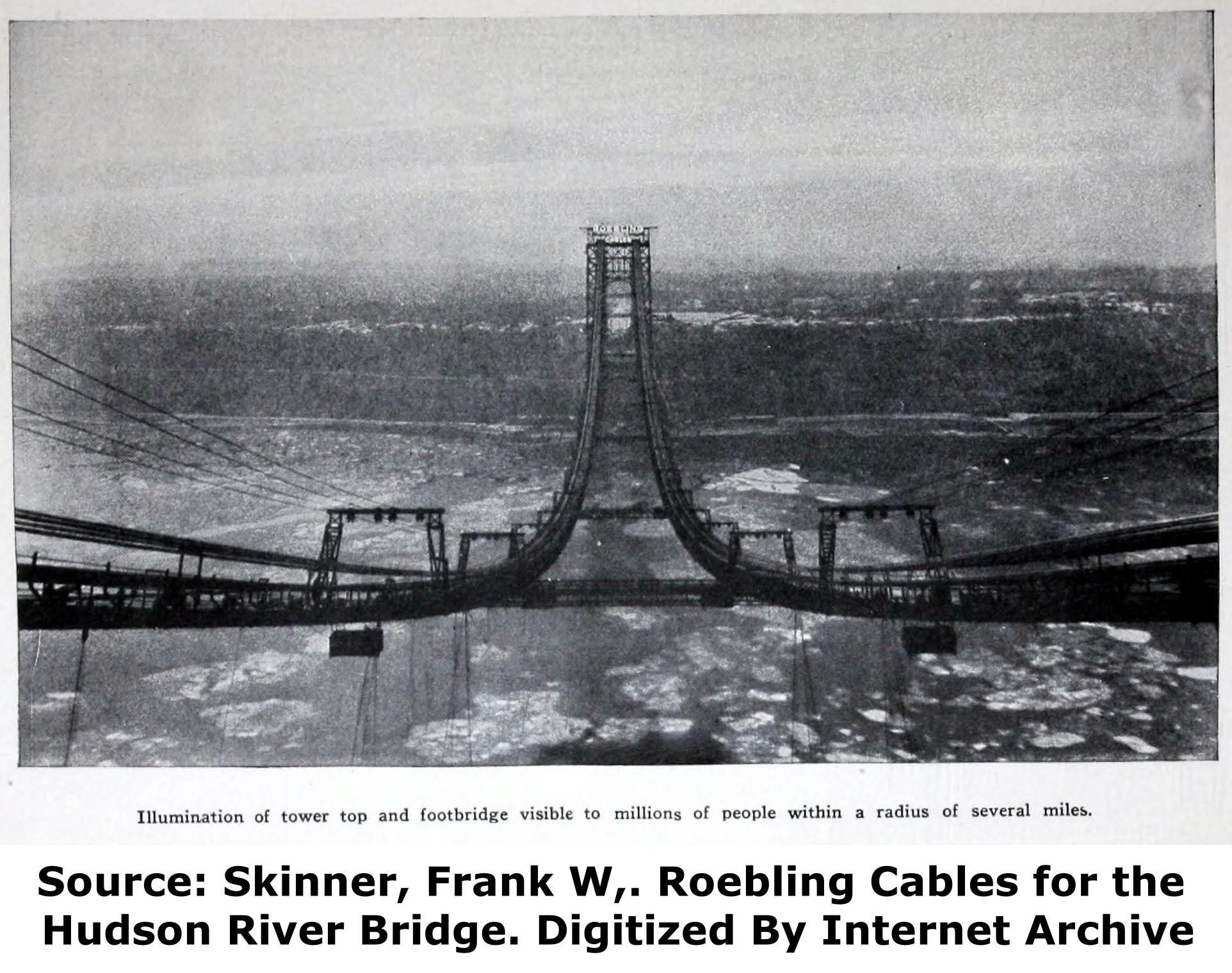 George Washington Bridge Historicbridges Org