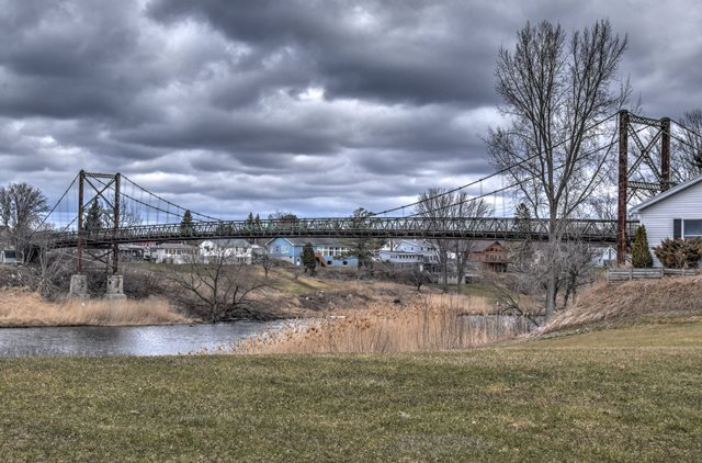 Massena Center Bridge
