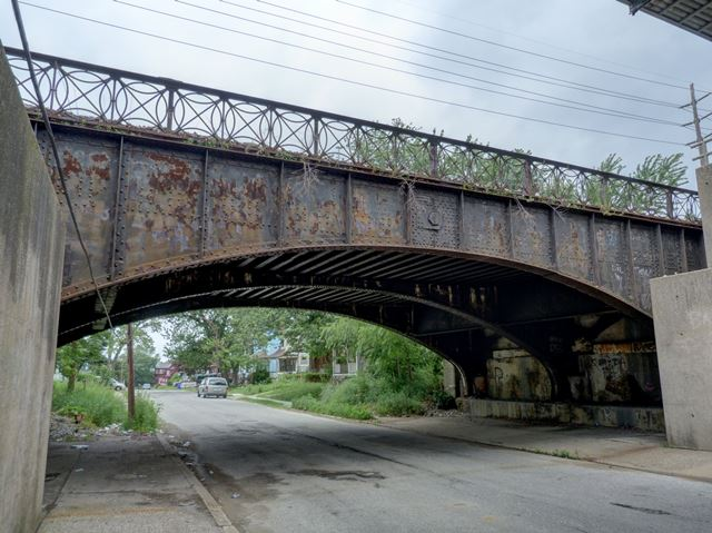 Elsinore Avenue Railroad Overpass