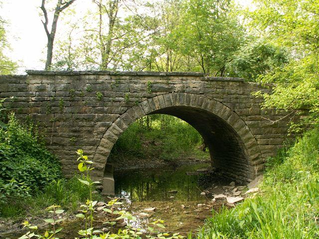 Falknor Road Arch Bridge Blankenship Park Stone Arch
