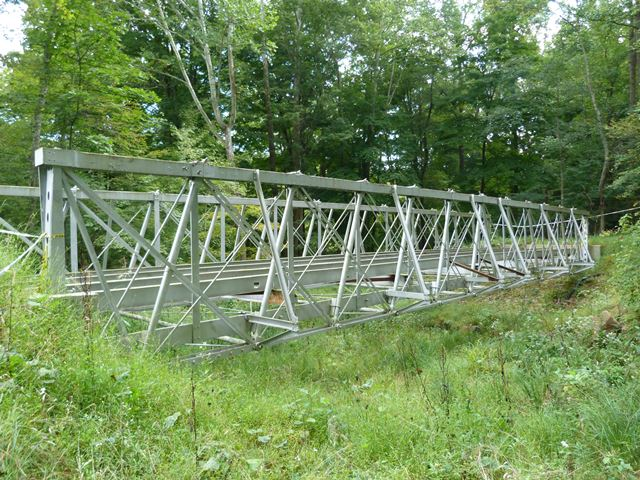 Falling Rock Camp Iron Bridge