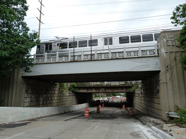 Martin Luther King Jr. Drive Railroad Overpass