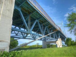 Anthony Wayne Bridge High Level Bridge Historicbridges Org