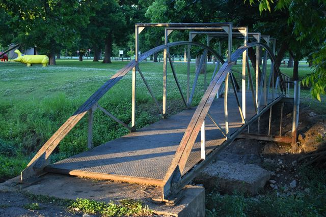John Zink Park Bridge