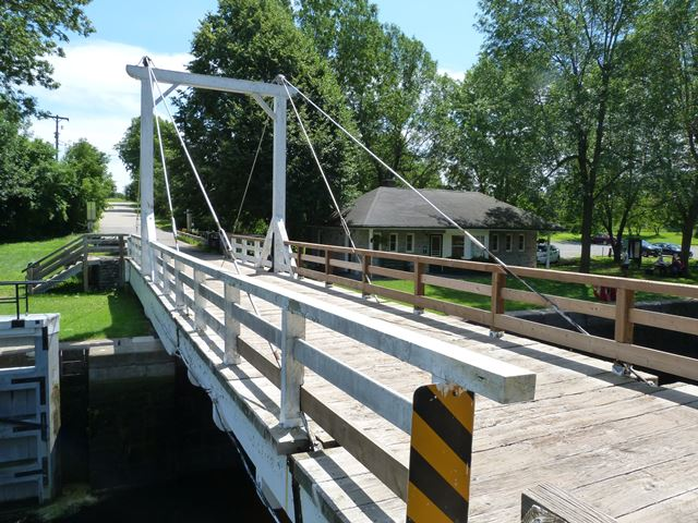 Andrewsville Swing Bridge