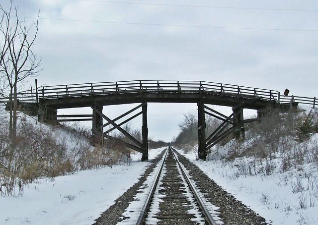 CP Railroad Private Overpass