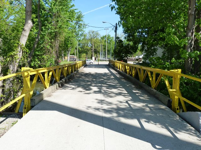 Strathroy Victoria Park Bridge