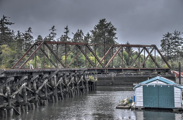 Blind Slough Railroad Bridge