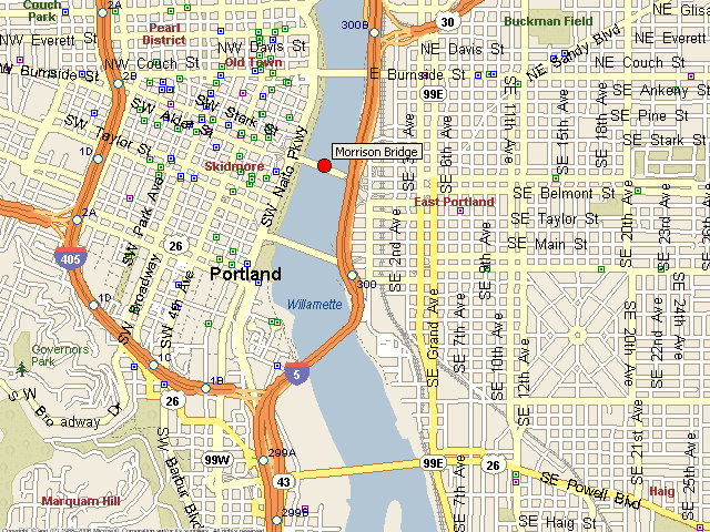 Morrison Bridge Map - Creativehobby.store •