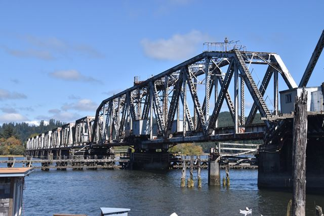 Reedsport Railroad Bridge