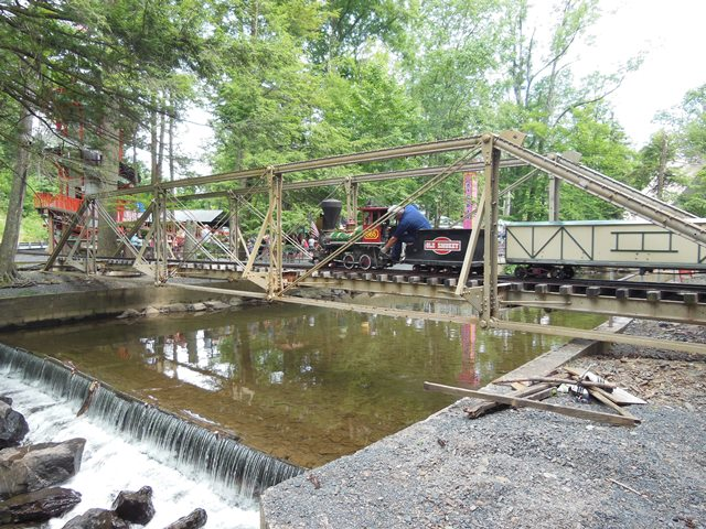 Knoebels Amusement Park Bridge