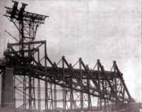 Erection of Cantilever