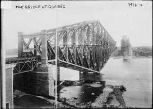 Photo Showing Bridge Construction