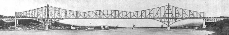 Artist Rendering of First Bridge