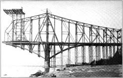 Construction of First Bridge