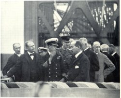 Prince of Wales Dedicating The Bridge, August 22, 1919
