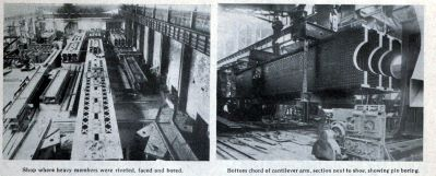 Built-Up Beam Assembly In Bridge Shop