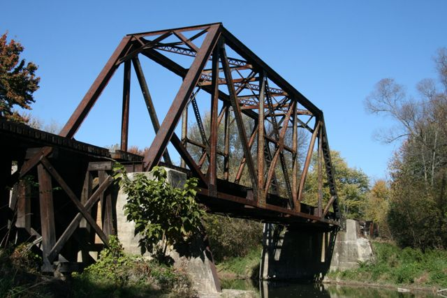 Cass River Railroad Bridge