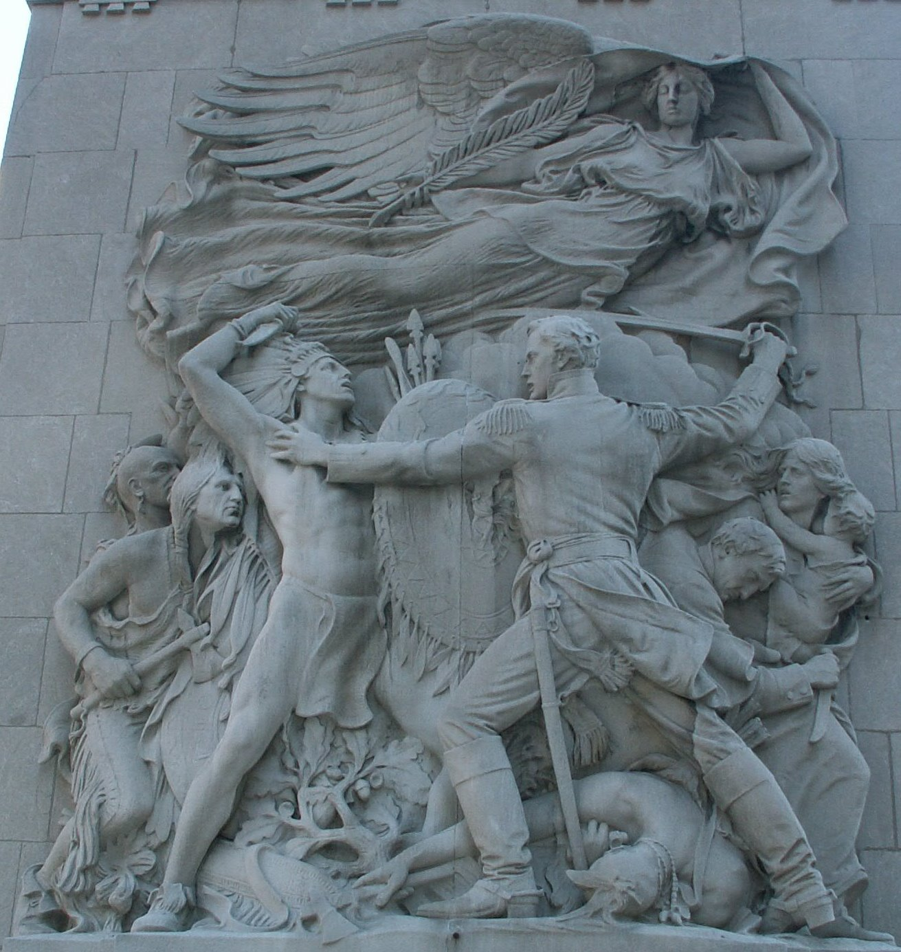 Image result for city of chicago defense sculpture regeneration bridge