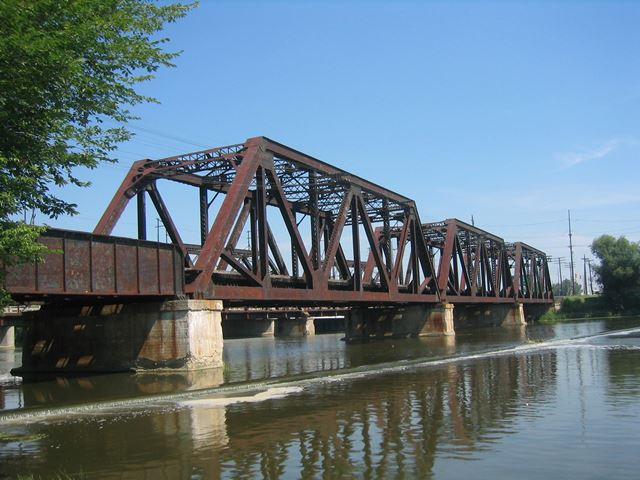 Monroe Canadian National Railroad Bridge