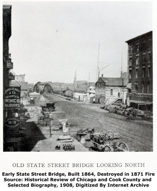 State Street Bridge Earlier Swing Bridge