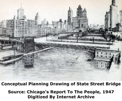 State Street Bridge Conceptual Drawing