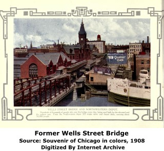 Wells Street Swing Bridge