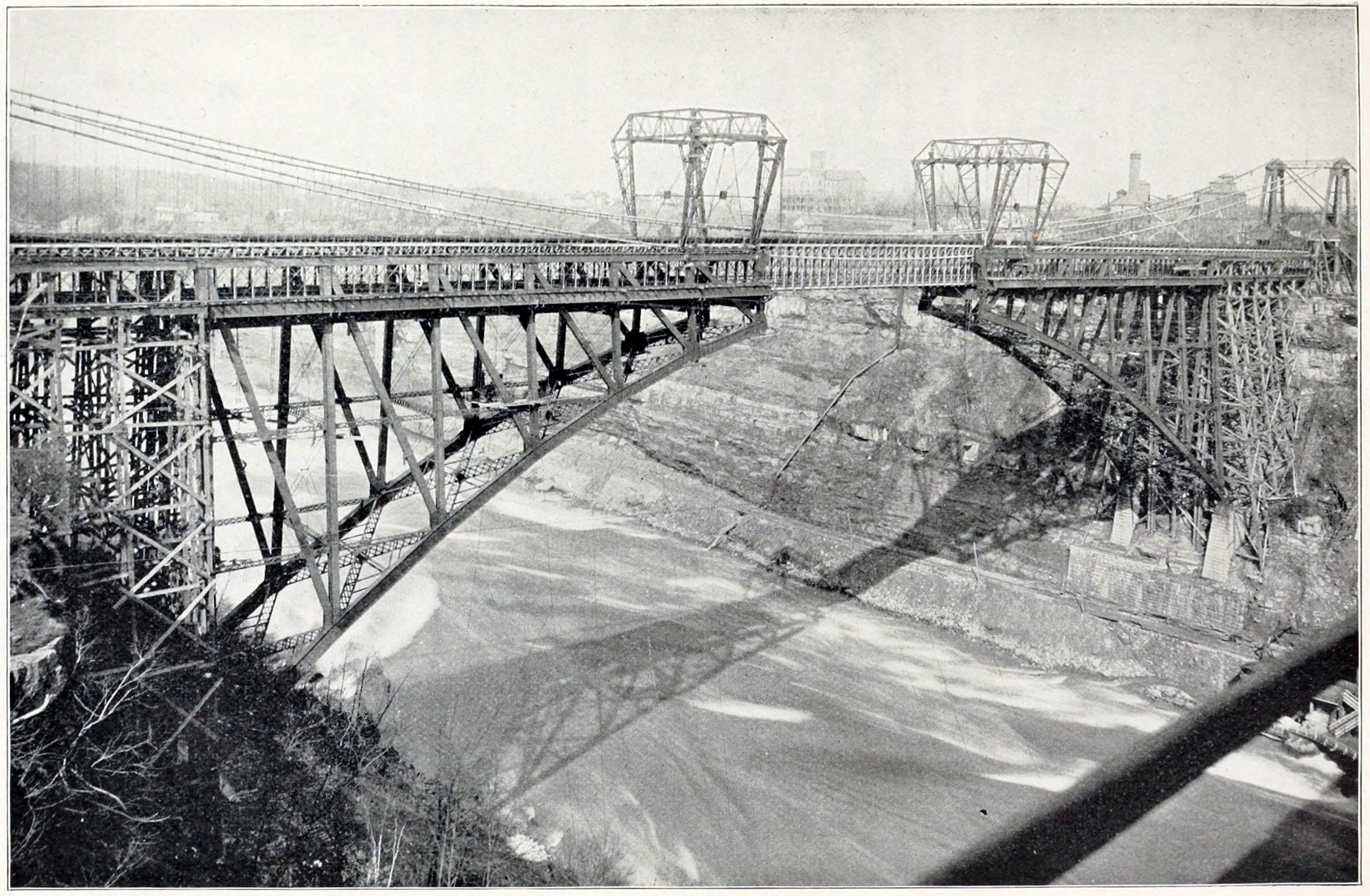 Whirlpool Black Ice Whirlpool Rapids Bridge Lower Arch Bridge