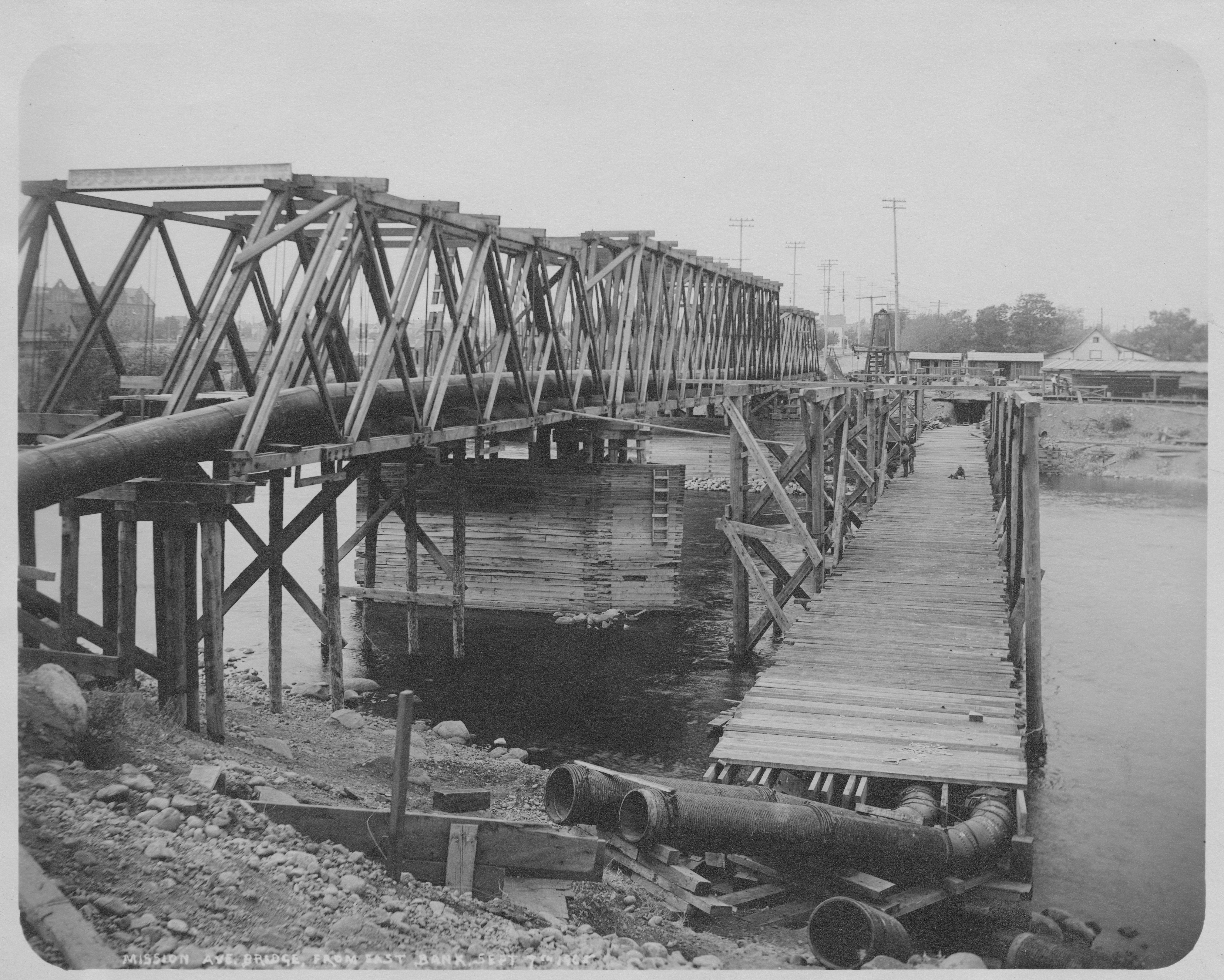 Wooden Bridge Construction Methods