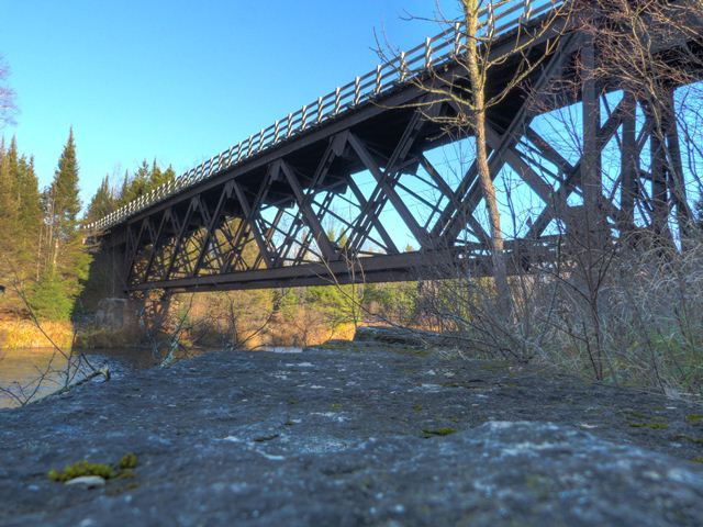 Brule River Railroad Bridge